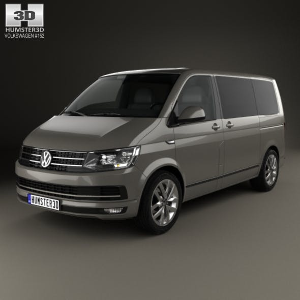 Volkswagen Transporter (T6) Multivan 2016 - 3DOcean Item for Sale