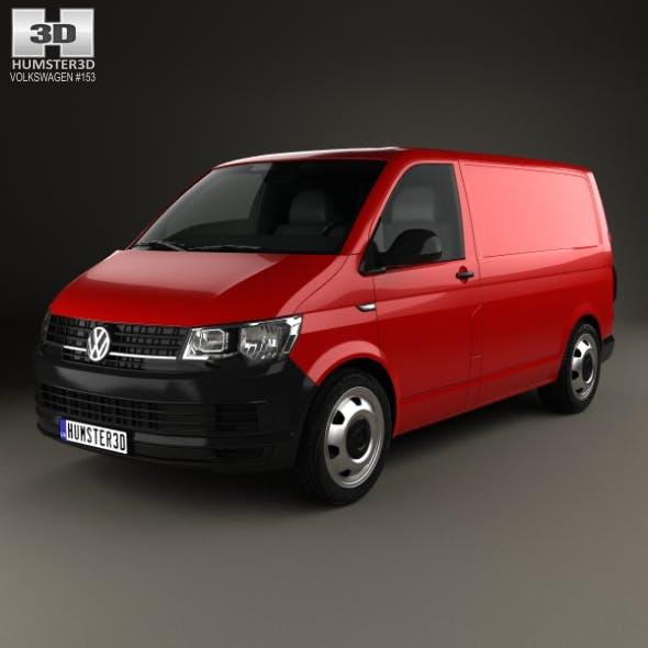 Volkswagen Transporter (T6) Panel Van 2016 - 3DOcean Item for Sale
