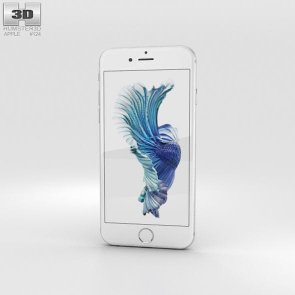 Apple iPhone 6s Silver - 3DOcean Item for Sale