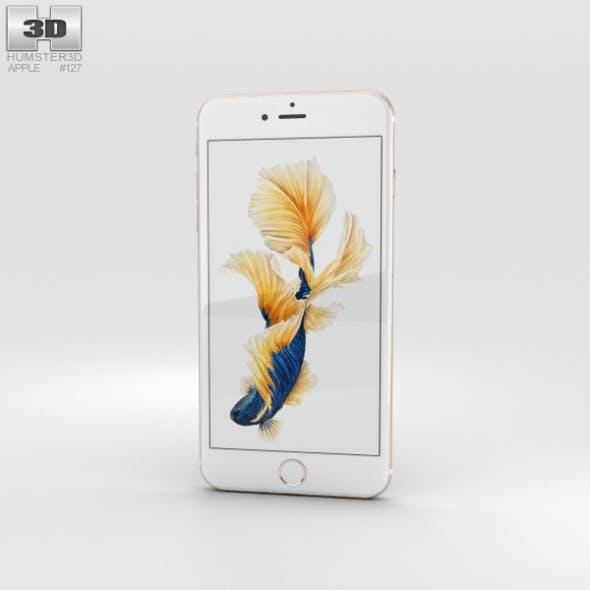 Apple iPhone 6s Plus Gold - 3DOcean Item for Sale
