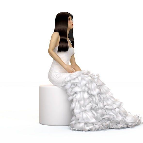 Wedding evening dress, holiday, Escort, fashion designer