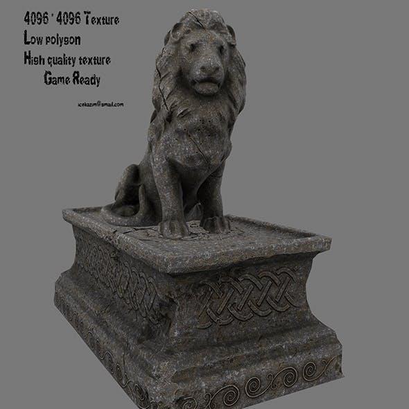 Lion Statue 10