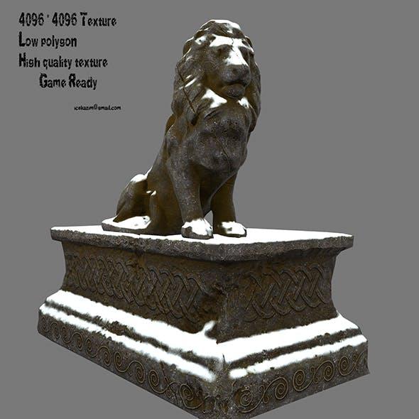 Lion Statue 11