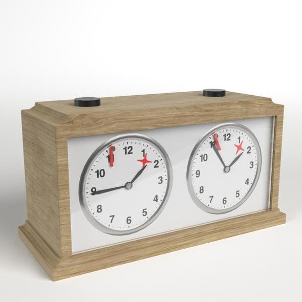Chess Clock 2 - 3DOcean Item for Sale