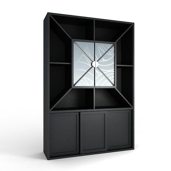 Black bar cabinet 2