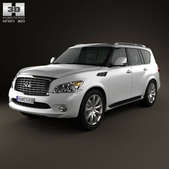 Infiniti QX 2011 - 3DOcean Item for Sale
