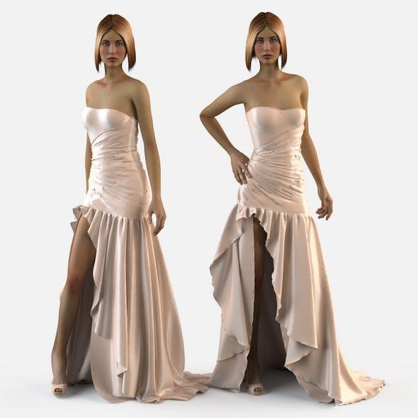 Wedding evening dress holiday Escort fashion designer