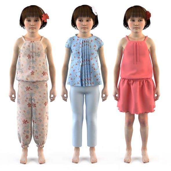 3D Group of children, child, boy, girl, playroom, children's room - 3DOcean Item for Sale
