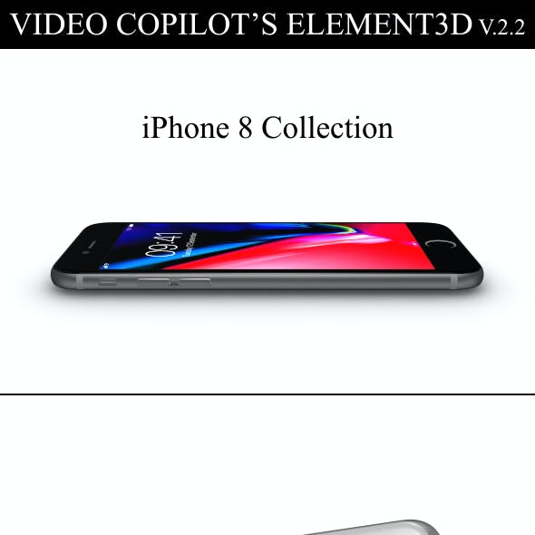 Element3D - iPhone 8 Collection
