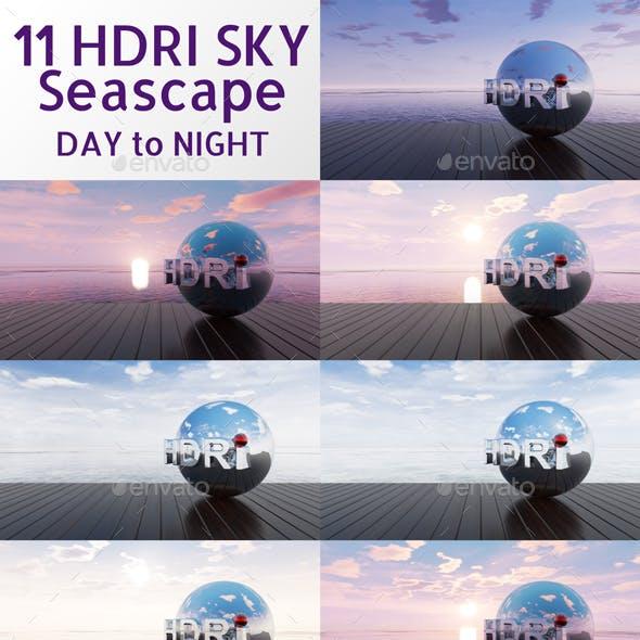 Full Day Seascape HDRi Sky Collection