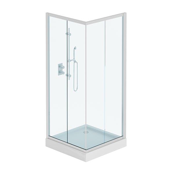 Square Shower - 3DOcean Item for Sale