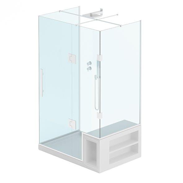 Rectangular Shower - 3DOcean Item for Sale