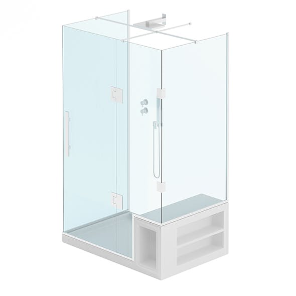 Rectangular Shower