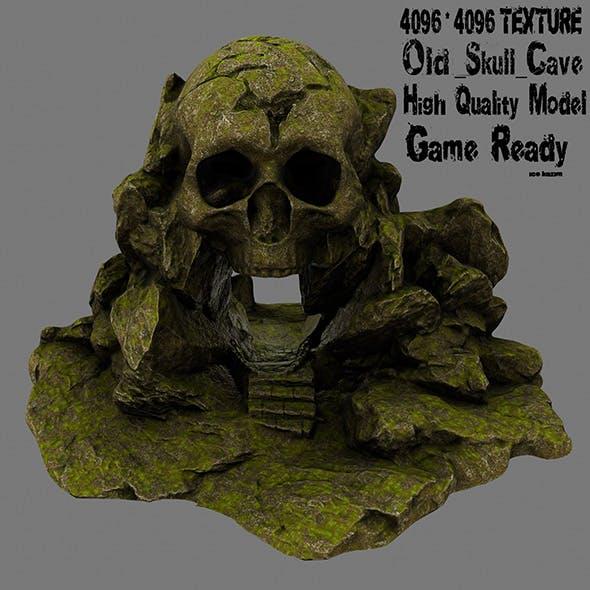 skull cave 6 - 3DOcean Item for Sale