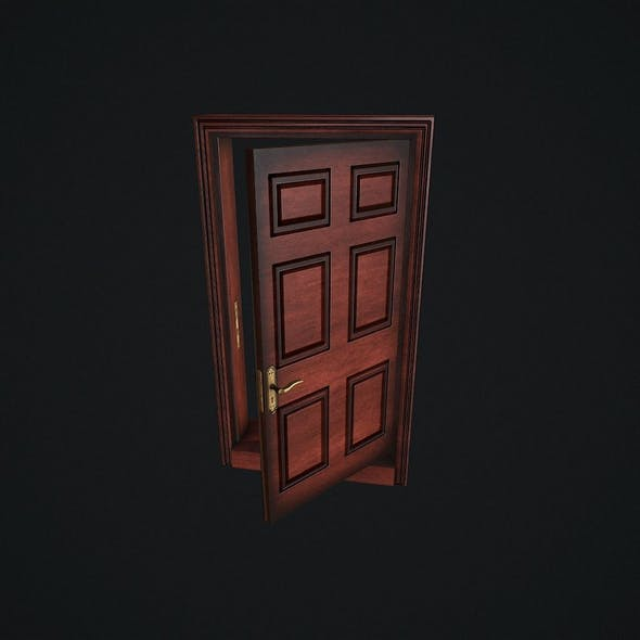 Door Animated pbr