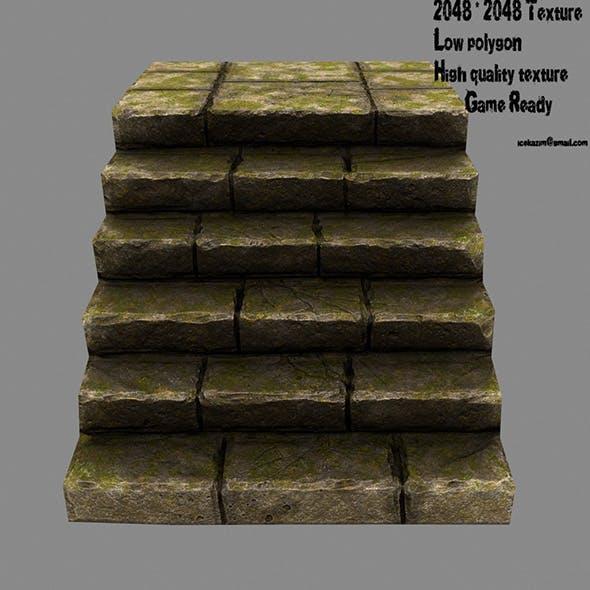 Stairway 7 - 3DOcean Item for Sale
