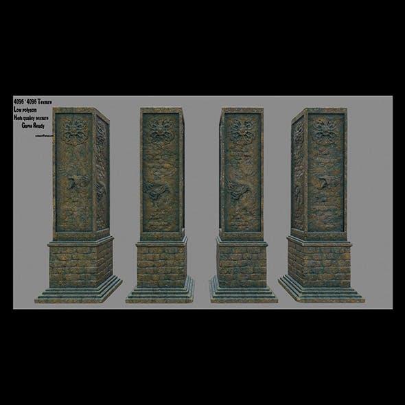 pillar 11 - 3DOcean Item for Sale