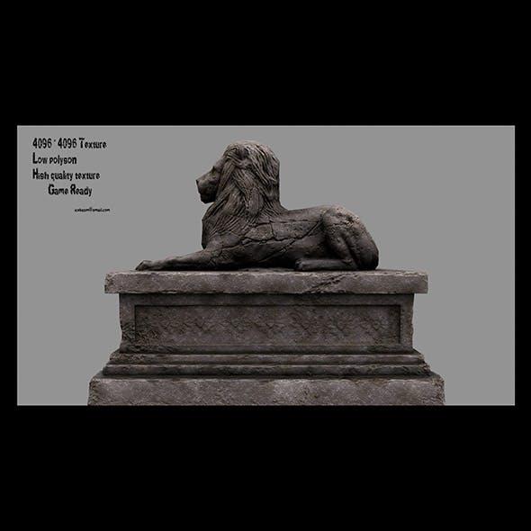 Lion Statue 13