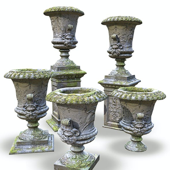 Stone Vase from Park