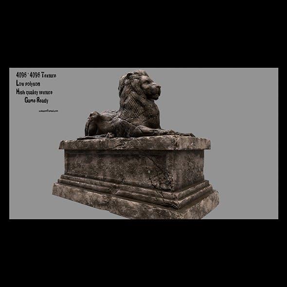 Lion Statue 17 - 3DOcean Item for Sale
