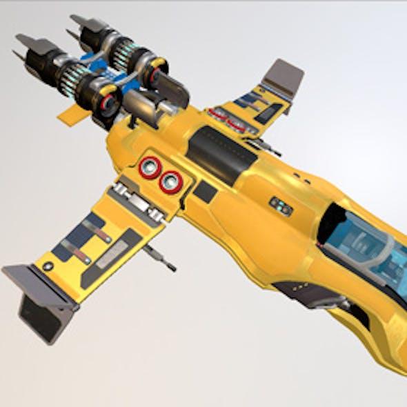 Next-Gen Space Ship