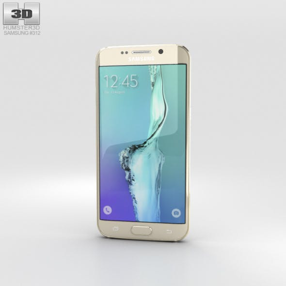 Samsung Galaxy S6 Edge Plus Gold Platinum - 3DOcean Item for Sale