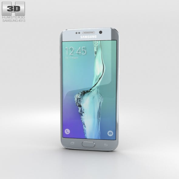 Samsung Galaxy S6 Edge Plus Silver Titan