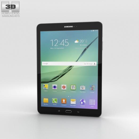 Samsung Galaxy Tab S2 9.7-inch Black - 3DOcean Item for Sale