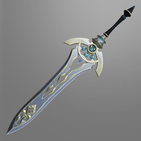 Fantasy sword_7 - 3DOcean Item for Sale
