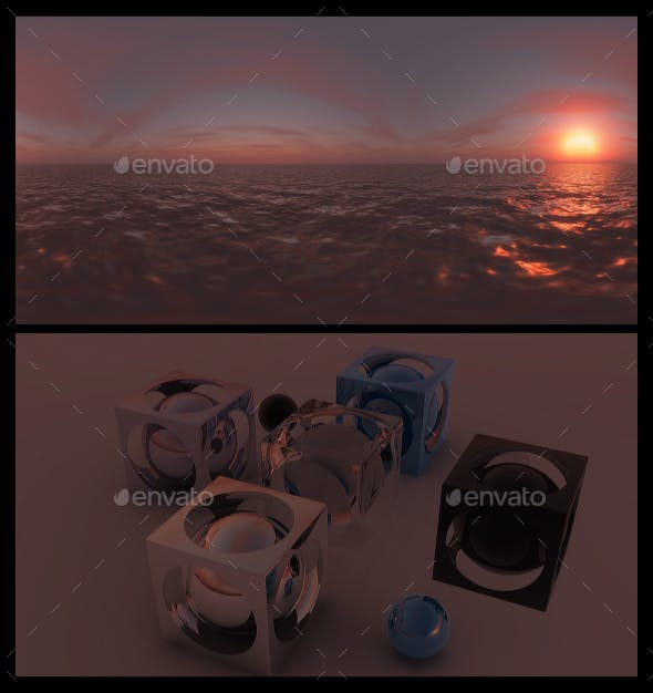 Red Dawn 3 - HDRI - 3DOcean Item for Sale