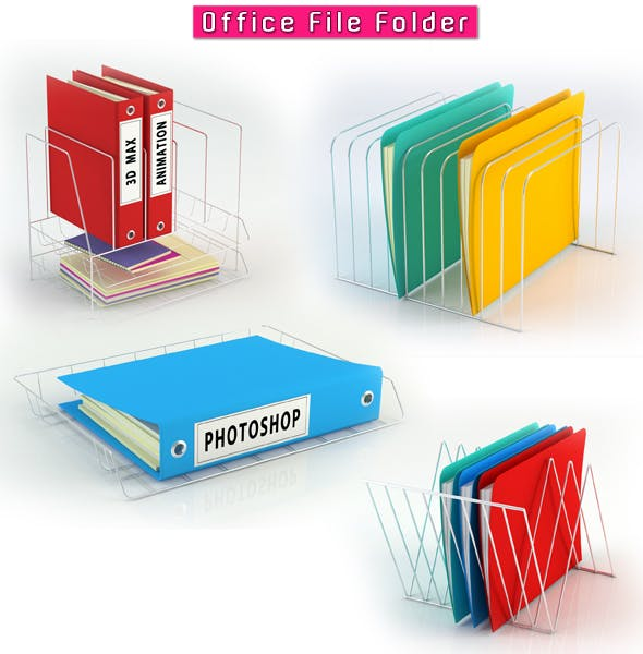 Office File Folder - 3DOcean Item for Sale