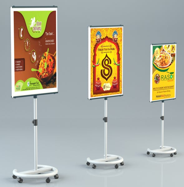 Standy Flex Banner - 3DOcean Item for Sale