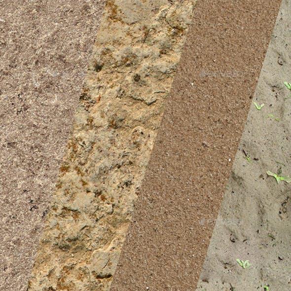 Textures sands