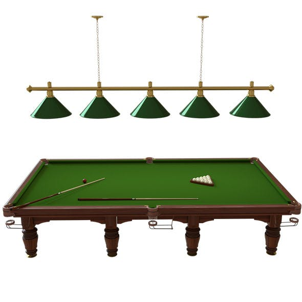 billiard regent - 3DOcean Item for Sale