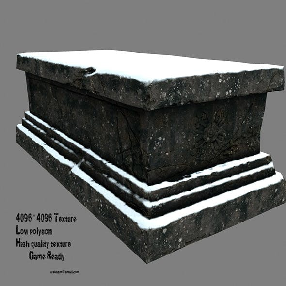 snow base - 3DOcean Item for Sale