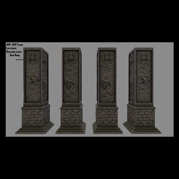 pillar 15 - 3DOcean Item for Sale