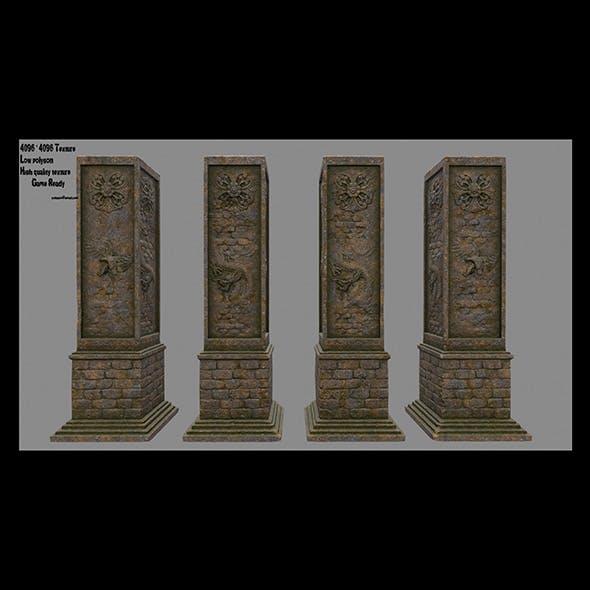 pillar 16 - 3DOcean Item for Sale