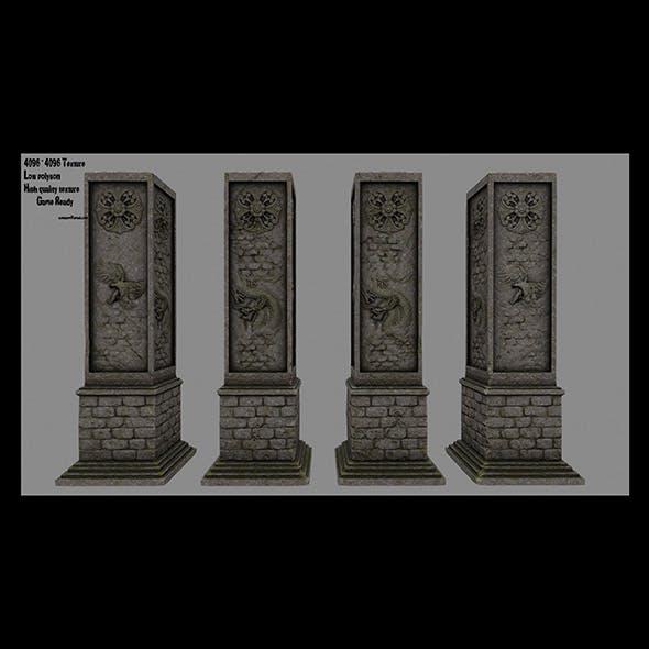 pillar 17 - 3DOcean Item for Sale