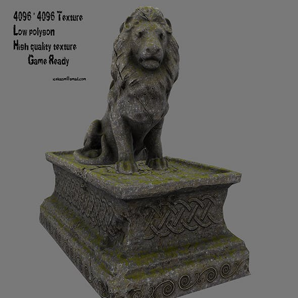 Lion Statue 18