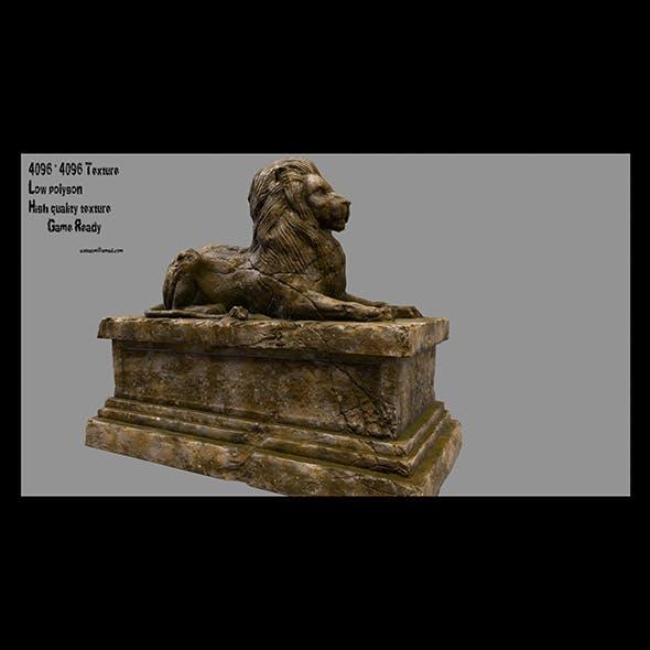 Lion Statue 20 - 3DOcean Item for Sale