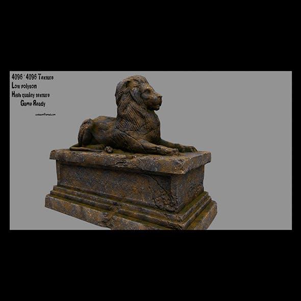 Lion Statue 22