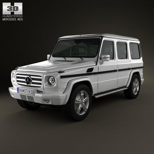 Mercedes-Benz G-class 2011 - 3DOcean Item for Sale