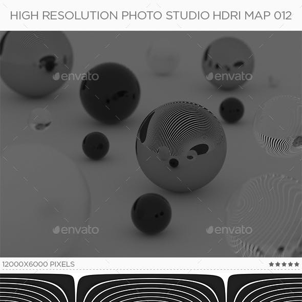 High Resolution Photo Studio HDRi Map 012