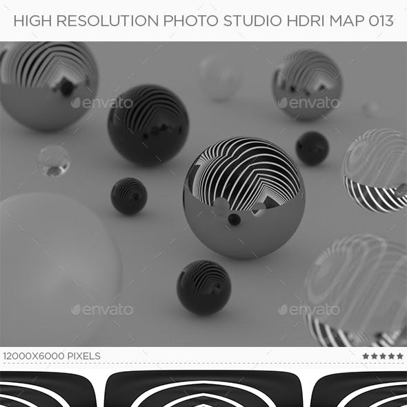 High Resolution Photo Studio HDRi Map 013