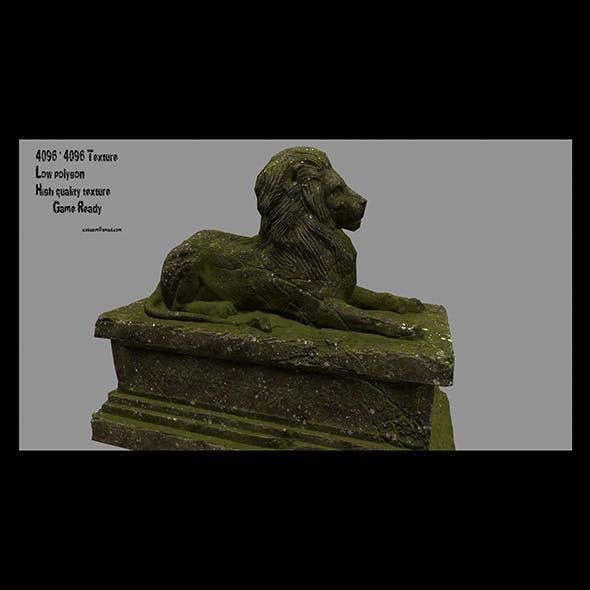 Lion Statue 23