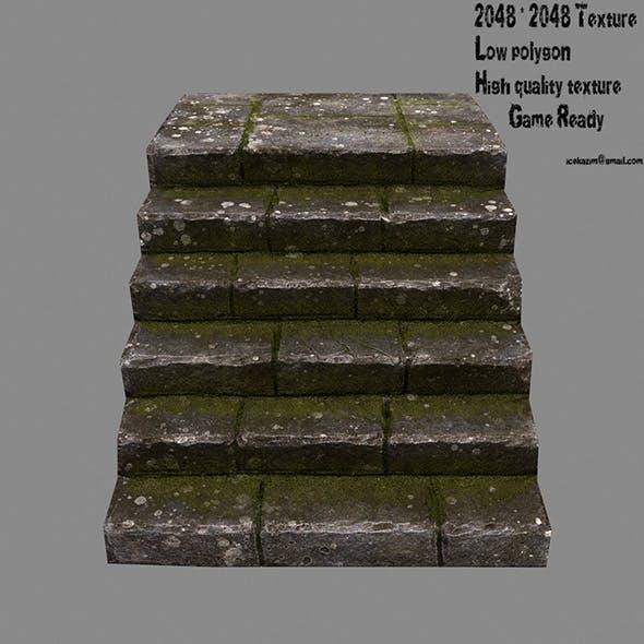 Stairway 10 - 3DOcean Item for Sale