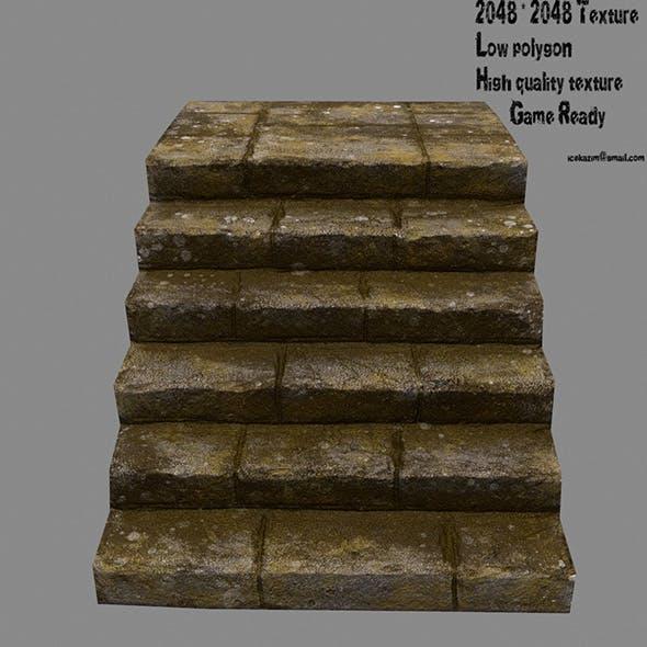 Stairway 18 - 3DOcean Item for Sale
