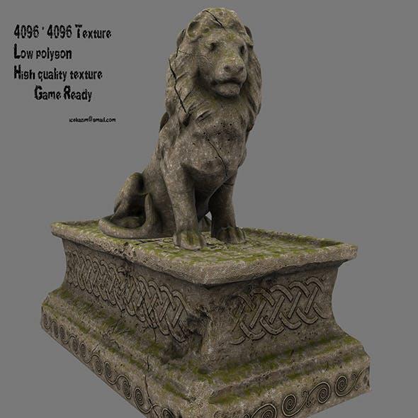 Lion Statue 0 - 3DOcean Item for Sale