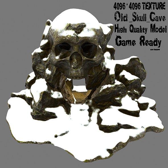 snow skull cave 1 - 3DOcean Item for Sale