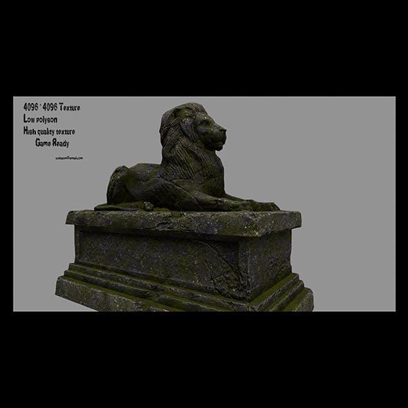 Lion Statue 24 - 3DOcean Item for Sale